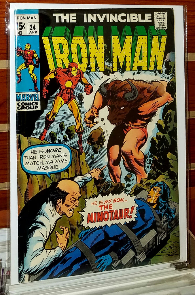 Iron Man #24 (1970) Marie Severin Cover
