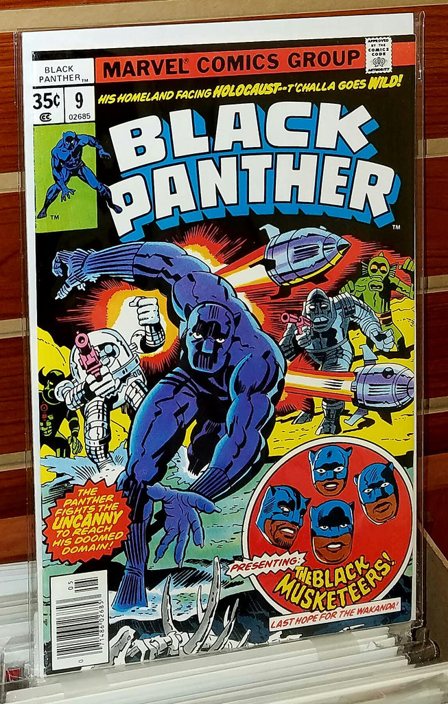 Black Panther #9 (1978) Jack Kirby Cover