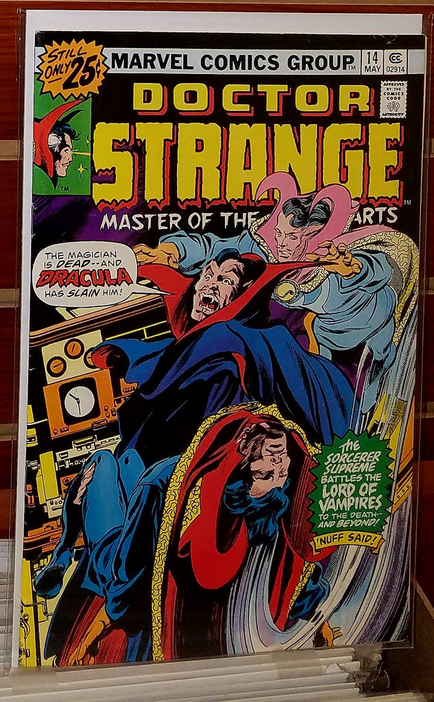 Doctor Strange #14 (1976) Dracula Appearance