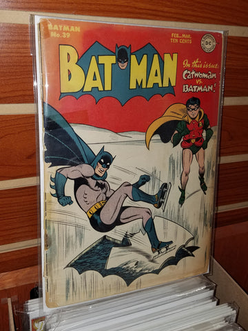 Batman #39 (1947) Catwoman Appearance