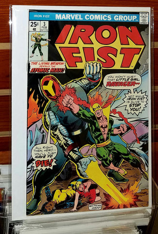 Iron Fist #3 (1976) Chris Claremont John Byrne