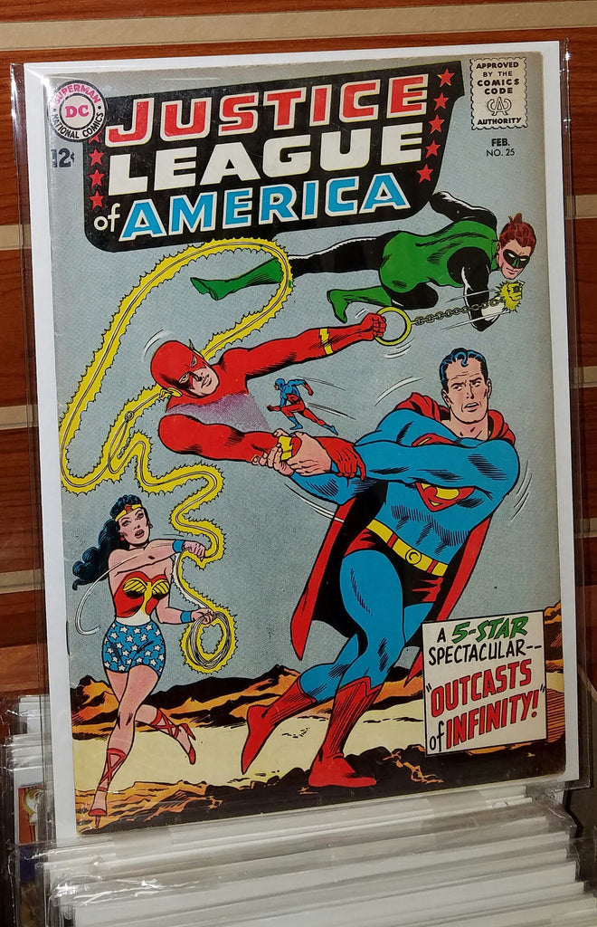 JUSTICE LEAGUE OF AMERICA #25 (1963)-FINE+/VF-