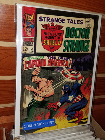 Strange Tales #159 (1967) Origin Nick Fury