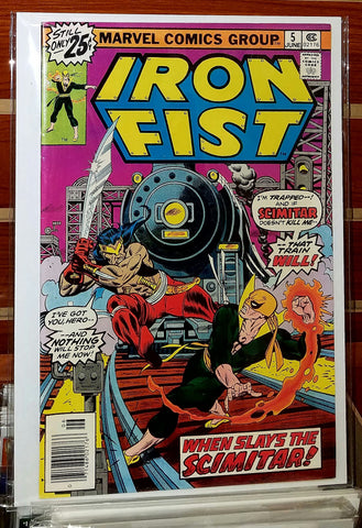 Iron Fist #5 (1976) Chris Claremont John Byrne