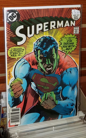SUPERMAN #317 (1977) NEAL ADAMS COVER-VF+