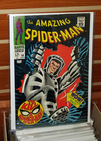AMAZING SPIDER-MAN #58 (1968) KA-ZAR APPEARANCE