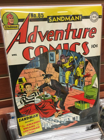 ADVENTURE COMICS #85 VF+ (1943) GOLDEN AGE JACK KIRBY ALFRED BESTER