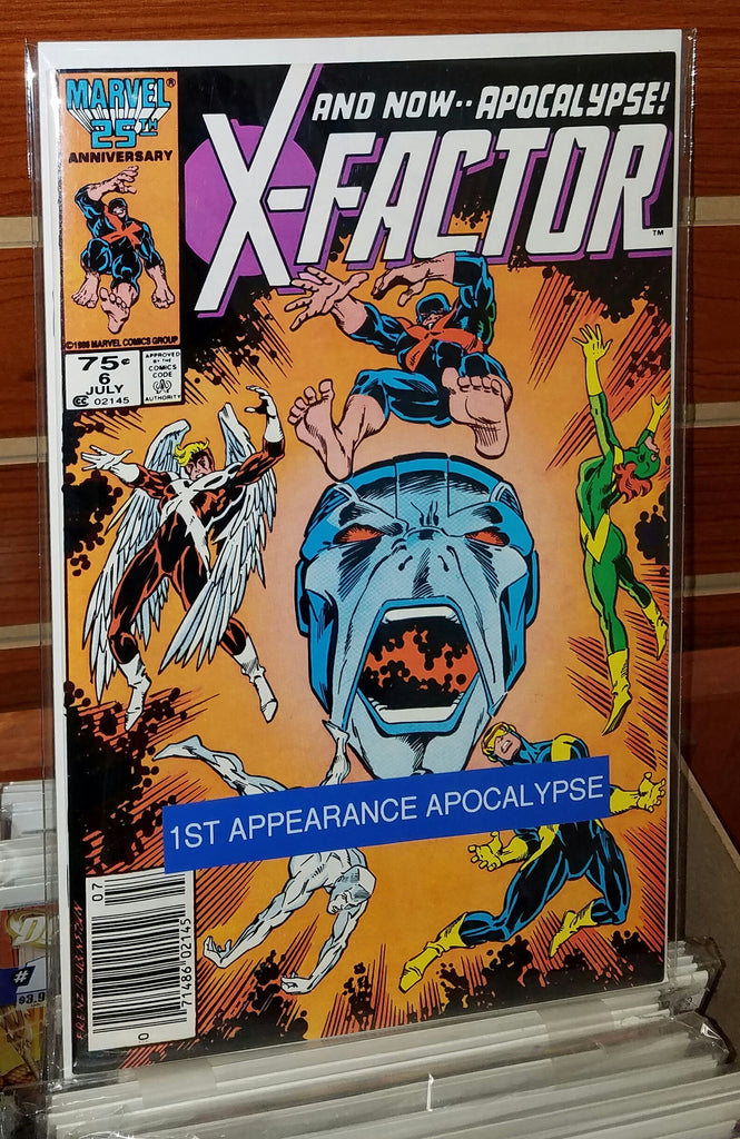 X-FACTOR #6 (1986) 1ST FULL APPEARANCE APOCALYPSE-NM