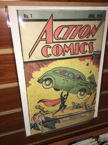 Action Comics #1 Safeguard Reprint