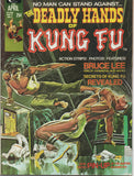 DEADLY HANDS OF KUNG FU MAGAZINE #1 (1974)-VF