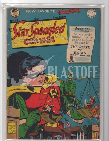 STAR SPANGLED COMICS #75 ROBIN-MARK WAID COLLECTION