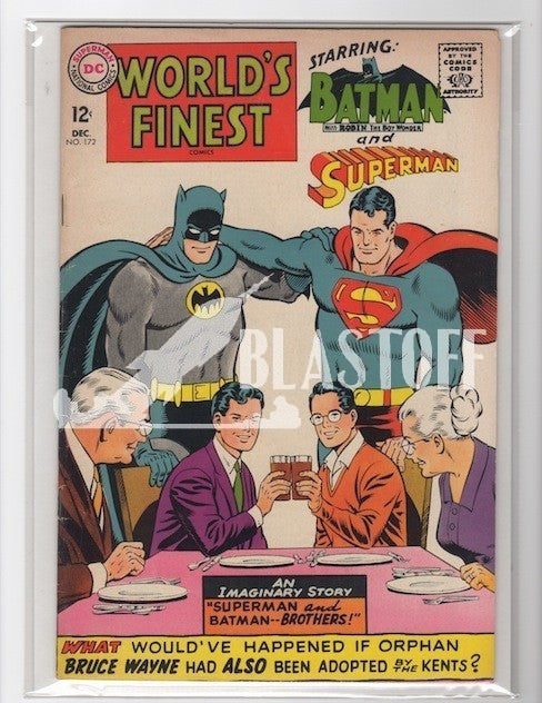 WORLD'S FINEST #172-VF 1967-MARK WAID COLLECTION