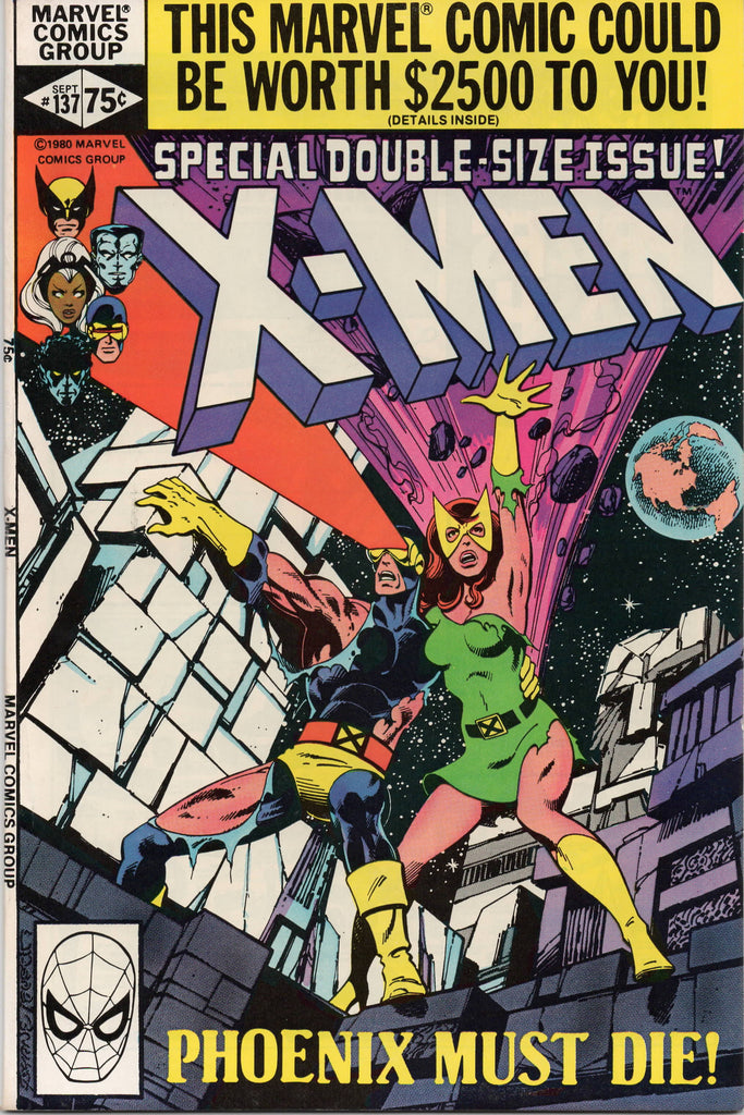 UNCANNY X-MEN #137 (1963) DEATH OF PHOENIX JEAN GREY-NM