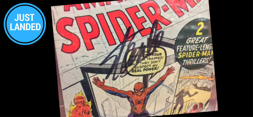 Amazing Spider-Man #1 Stan Lee Signed at Blastoff Comics