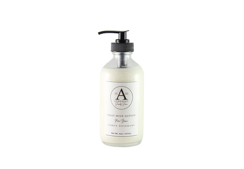 All Natural Goat Milk Lotion: 8 ounce