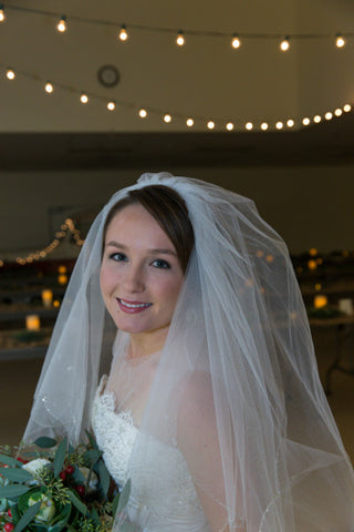 Beautiful Bride and lights
