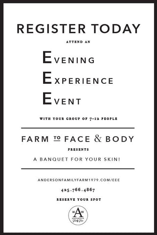 Evening Experience Event