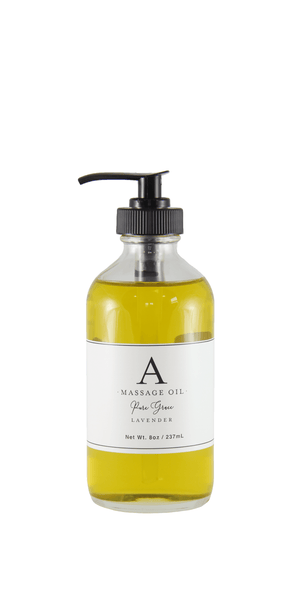 Valentine Massage Oil: Lavender or Rose Geranium