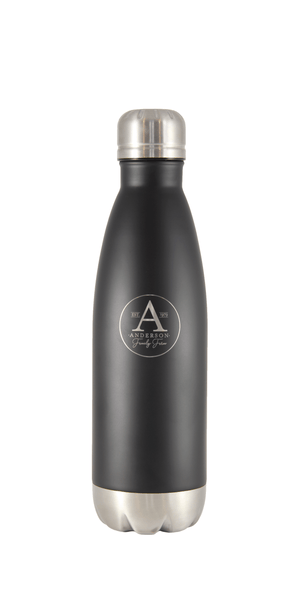 Anderson Family Farm logo Cola shaped premium grade 18/8 stainless steel