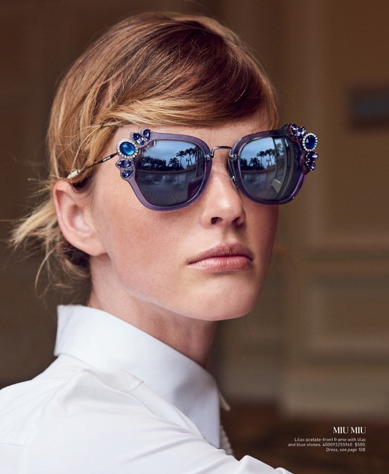 Embrace Funky Geometry Sunglasses This Summer