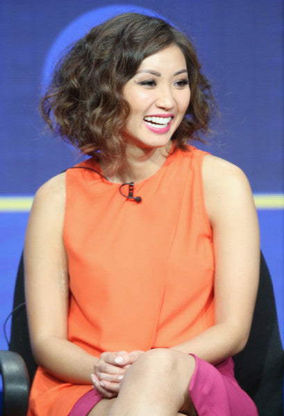 Actress Brenda Song - The Suite Life of Zack and Cody, wears Egosoleil to discuss show Pure Genius at TCA