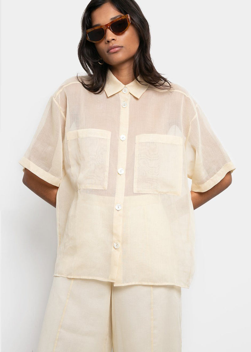 aeron see through blouse Aeron