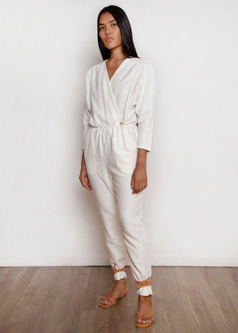 Alexandria Jumpsuit by Paloma Wool in Off-White Jumpsuit Paloma Wool
