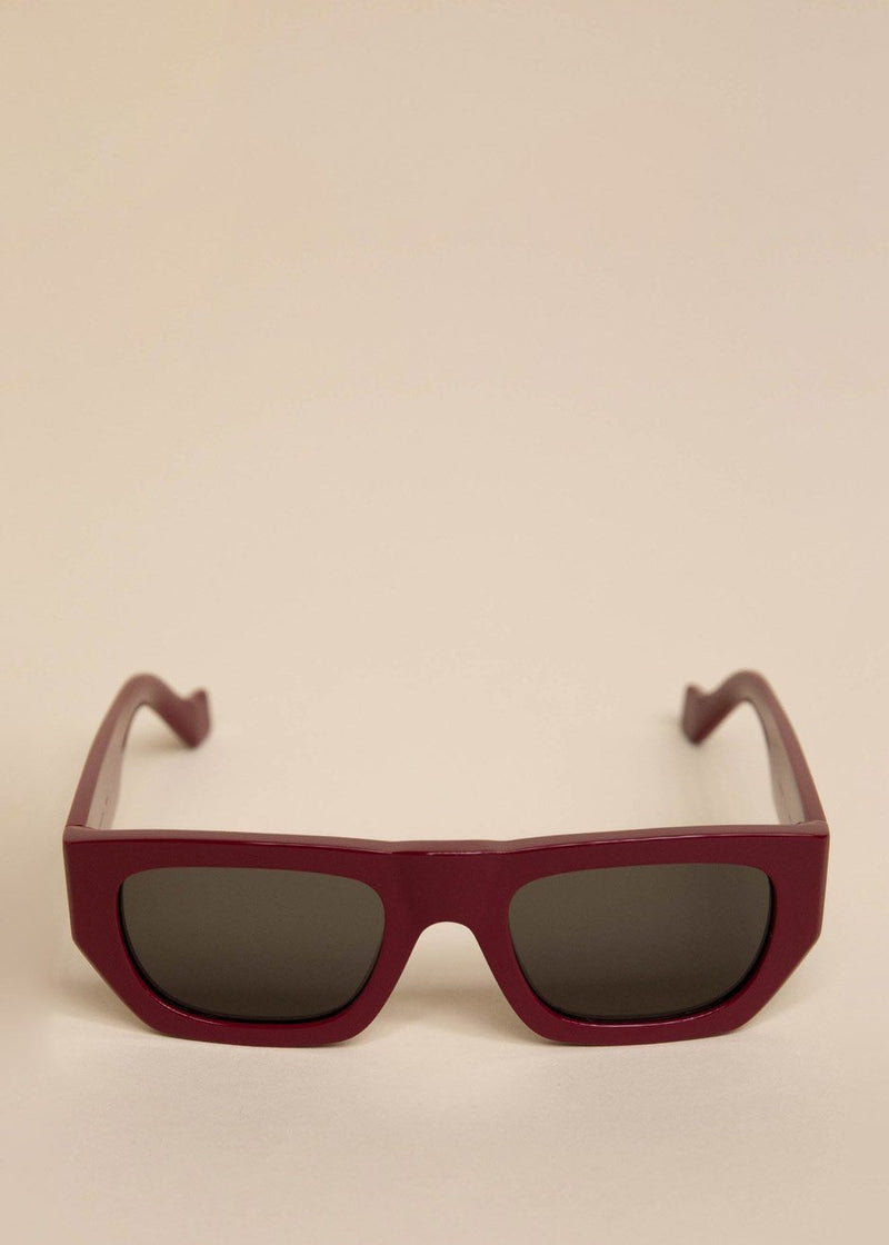 Attitude Sunglasses by TOL Eyewear in Cherry Sunglasses TOL Eyewear