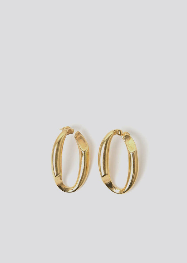 B-Tal Gold Plated Hoop Earrings Earrings B-Tal