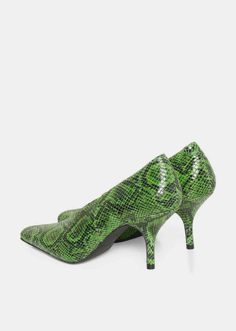 Bayla Pumps by Gestuz in Online Lime Shoes Gestuz