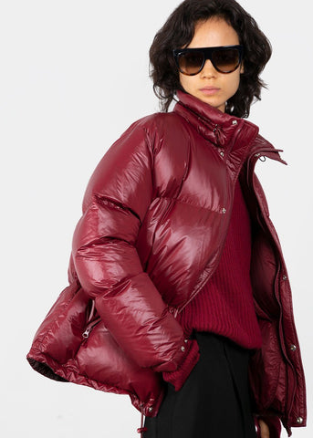 Berry Short Puffer Jacket Coat Stage