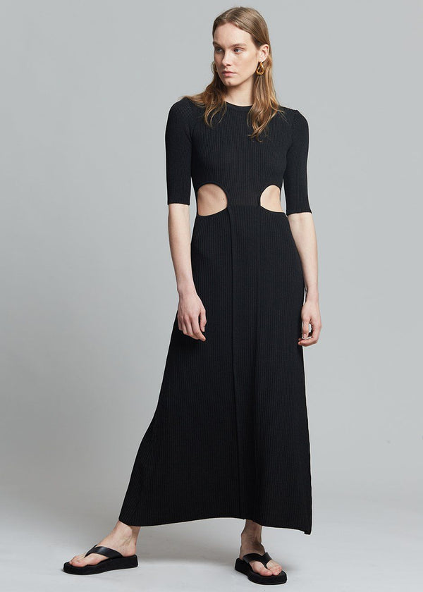 Bevza Nichka Dress in Black Dress bevza
