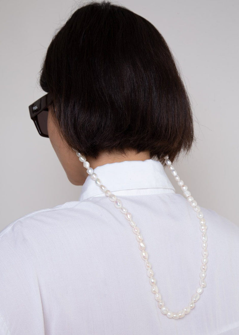 Big Genuine Pearl Frame Chain by TOL Eyewear accessories TOL Eyewear
