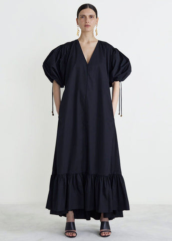 Black Dakota Long Dress by Rodebjer dress Rodebjer