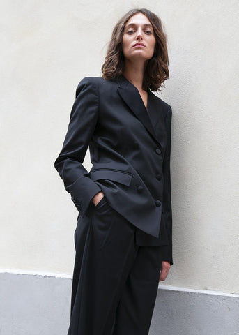 Black Tuxedo Blazer by Studio Cut blazer Studio Cut