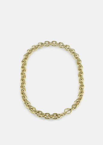Chain Choker with Tusk Clasp by Gabriela Artigas Necklace Gabriela Artigas