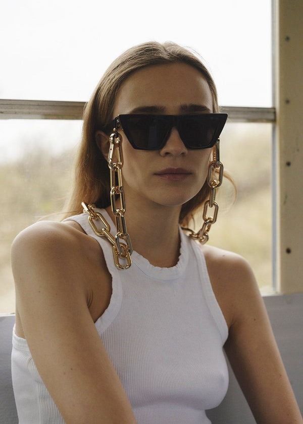 Chunky Gold Frame Chain by TOL Eyewear accessories TOL Eyewear