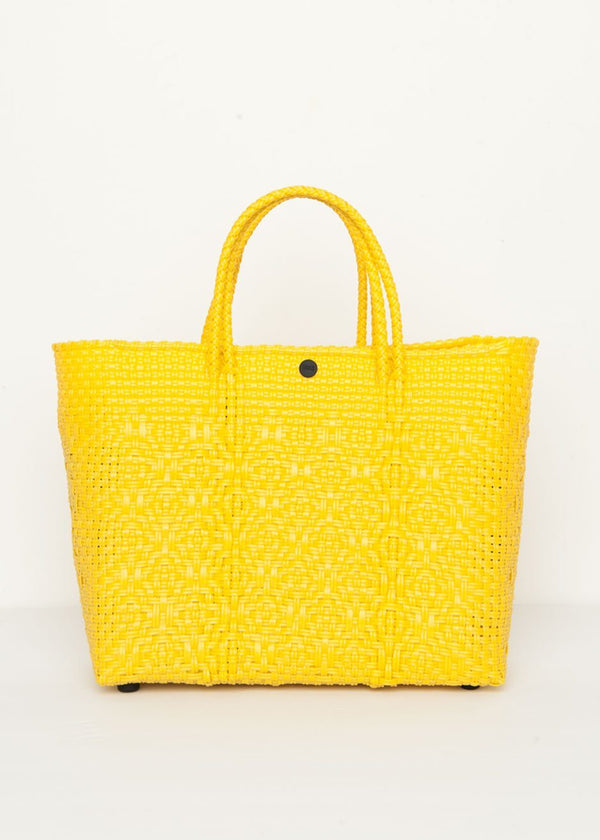 Crossbody Tote Bag in Yellow by TRUSS Bag TRUSS
