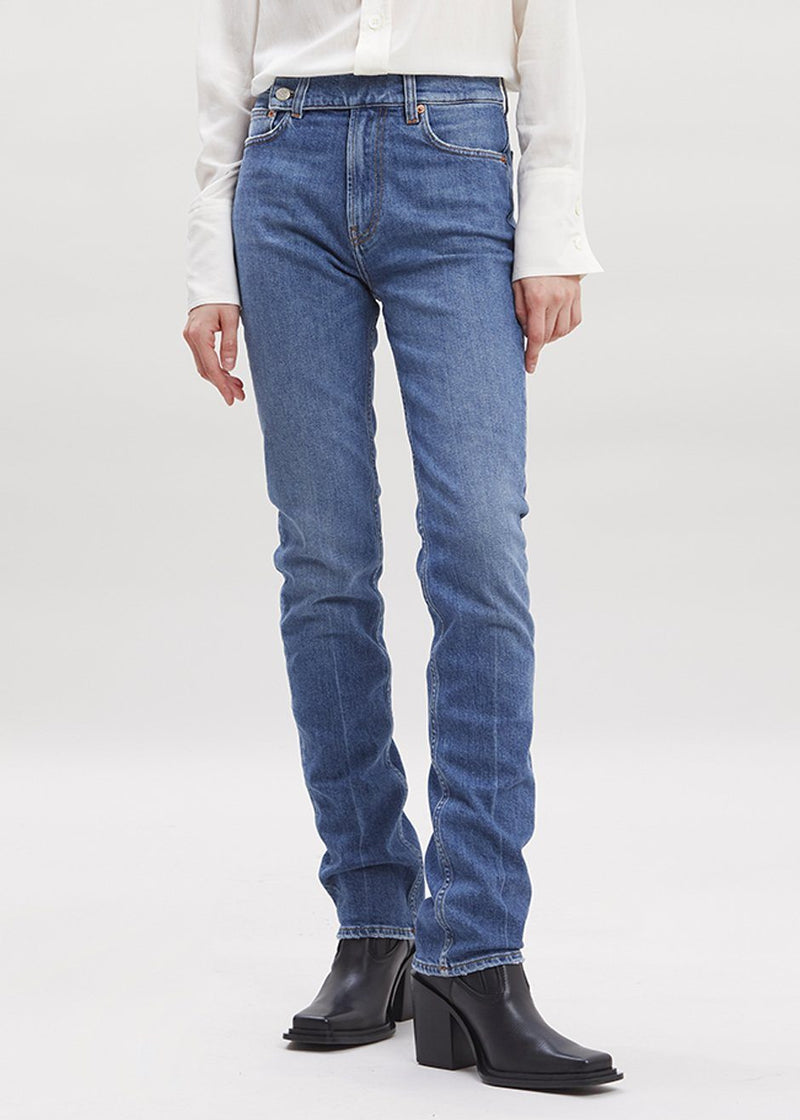 Deva Crossover Jeans by Covert in Blue Jeans Covert