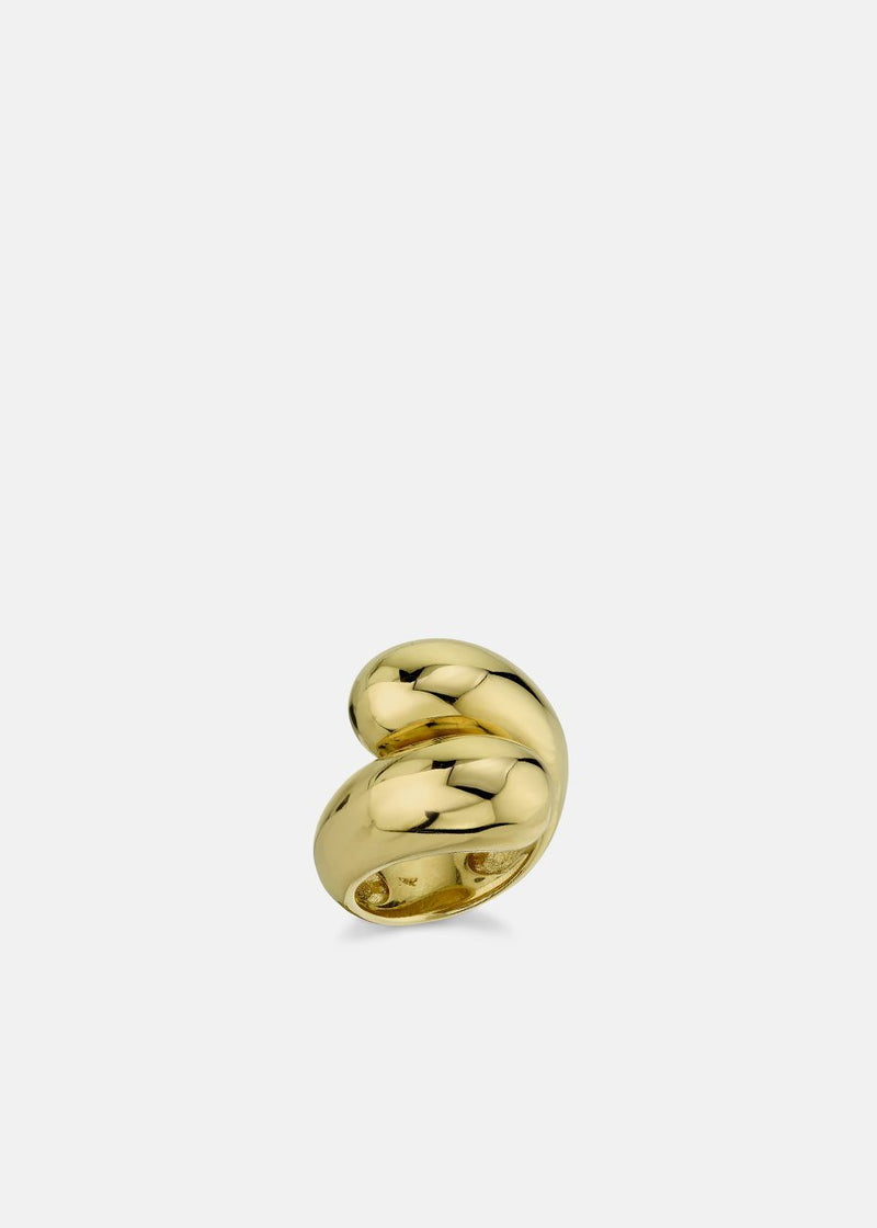 Double Apse Ring by Gabriela Artigas in Yellow Gold Jewelry Gabriela Artigas