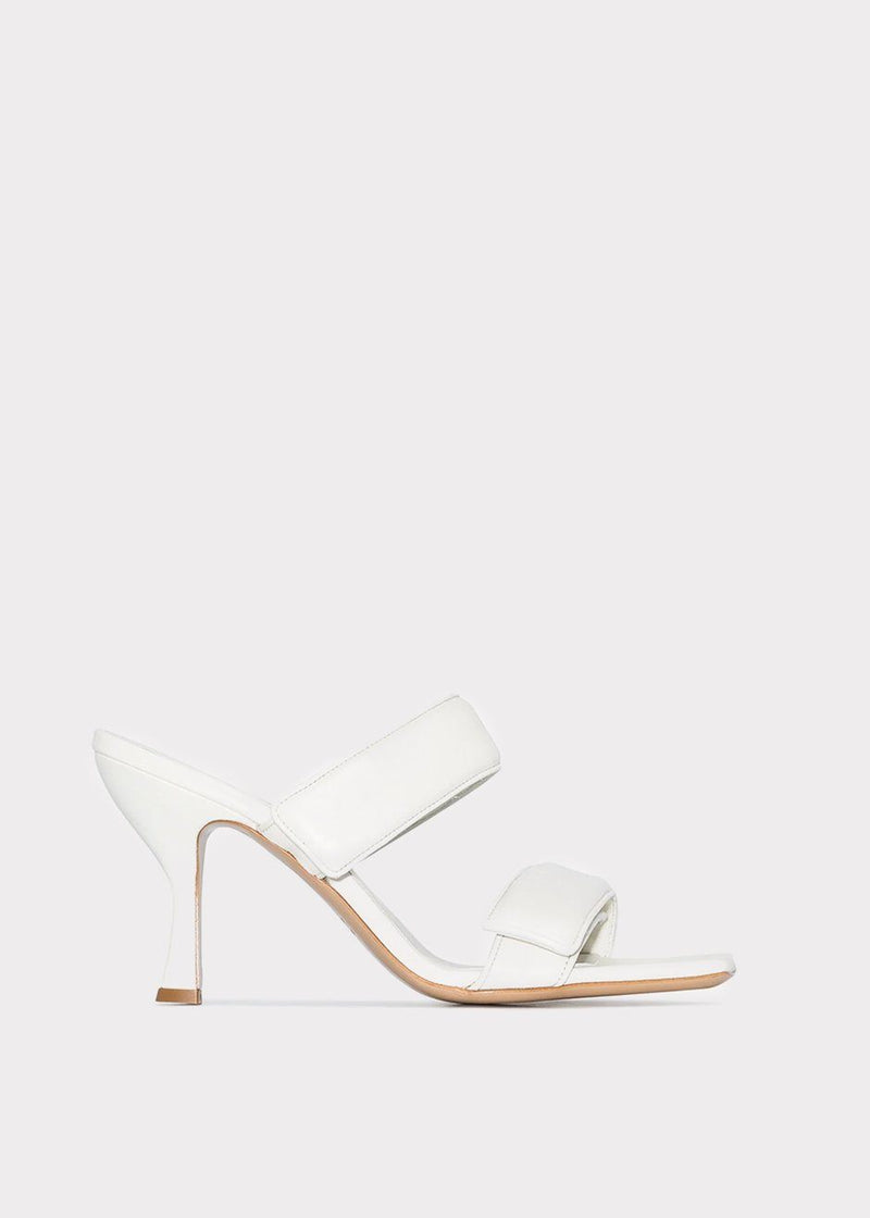 Double Strap Sandals by GIA X Pernille Teisbaek- White Shoes gia X Pernille Teisbaek