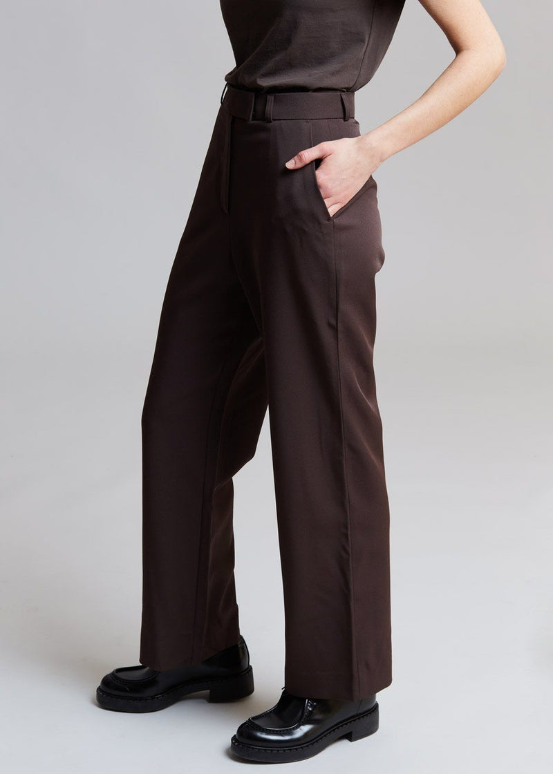 Gabardine Full Length Suit Pants in Java Pants 3.another
