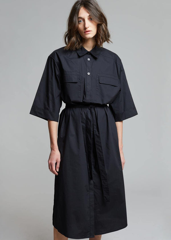 Gestuz Dimma Shirt Dress - Black Dress Gestuz