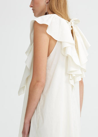 Glouria Dress in Egg White by Rodebjer Dress Rodebjer