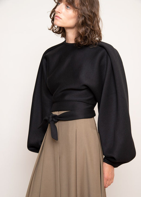 Goya Blouse by Beaufille in Black Top beaufille