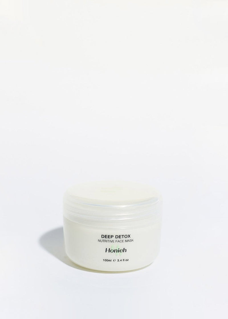Honieh Deep Detox Nutritive Face Mask Beauty Honieh