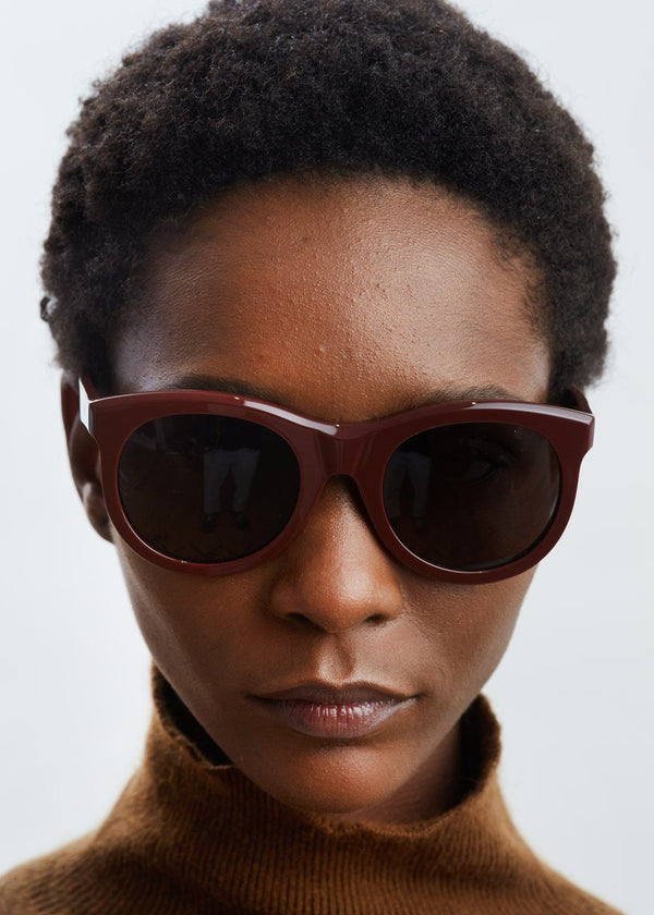 Incognito Sunglasses by TOL Eyewear in Burgundy Sunglasses TOL Eyewear