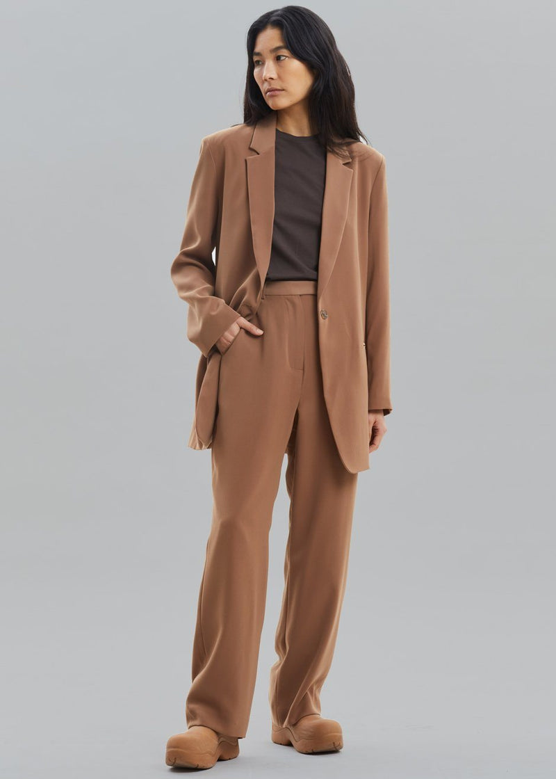 Isla Tailored Trousers - Tawney Pants The Frankie Shop