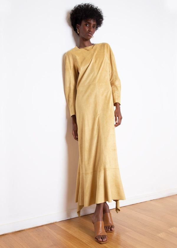 Jahaira Dress by Áeron in Mustard Dress Aeron