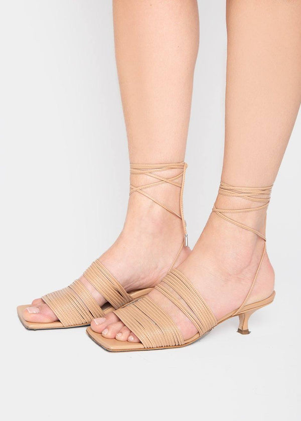 Jane Sandals by A.W.A.K.E MODE- Nude Shoes Awake Mode